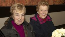 Agnes O'Dowd and Anna Cronin at the community coffee morning in Barntown Community Centre