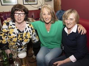 Mary Barron, Breda Moore and Breda Rossiter at the 80s night and lip-sync show in Glynn Barntown GAA clubhouse