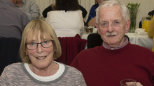 Dolly and Ned Waters at the dinner to mark the 25th anniversary of Taghmon Day Centre in the TAG Centre
