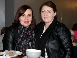 Grace Bates and Elaine Keating the Abbie Troy fundraiser coffee morning in Coast Hotel, Kilmore Quay.