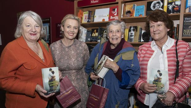 At the launch of Shelia Forsey's book 'Kilbride House' in Wexford Book Centre recently were Petty Connolly. Shelia Forsey, Lesley Stephens and Evelyn Bailey