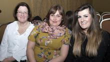 Fideles Power, Nicola Hendrick and Trudy Power at the fashion show in the Riverbank House Hotel in aid of Tomhaggard Social Centre and Women's Shed