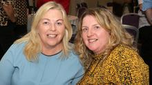 Geraldine Cullen and Marie Redmond at the Crossabeg/Ballymurn Community Centre Silver Circle Draw in Ferrycarrig Hotel