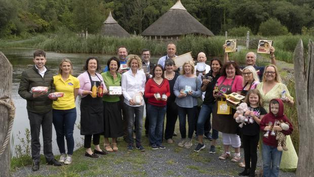 Pictured at The Irish National Heritage Park are members of the Wexford Food Family who are finalists in the Blas na hÉireann Irish Food Awards, which is set to take place in Dingle in October