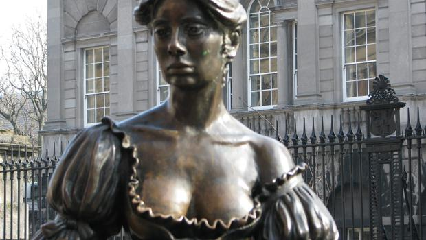 Irish icon Molly Malone's too hot for Facebook!