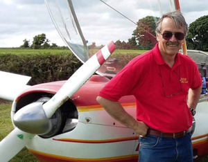 Pilot Peter Tawse who lost his life in the crash