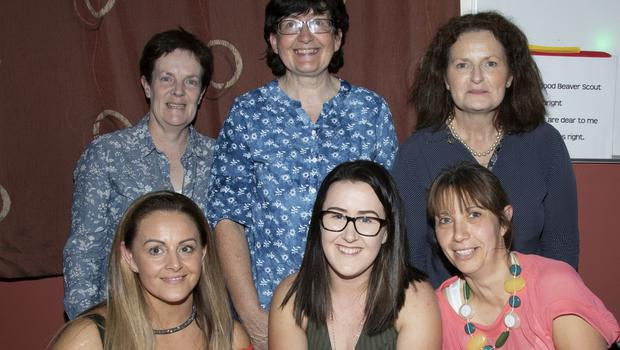 Back: Deirdre Hanover Doyle, Barbara Ryan and Suzanne McGuire. Front: Sharon Shinkwin, Louise Whelan and Margaret Rossiter