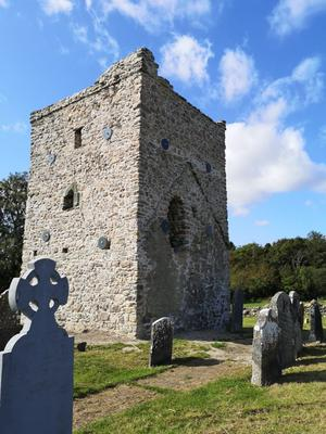 From dilapidated ruin, the old Kilmannan Church has been saved and restored