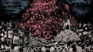 Endseeker's 'Mount Carcass' album cover