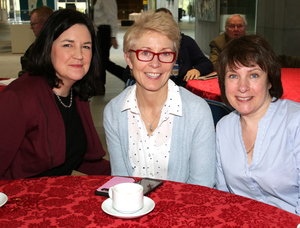 Marianna Kealy, Joan Murphy and Dervla Howley from the HSE