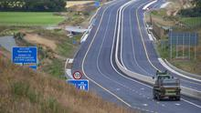 The new stretch of the M11 bypasses the Enniscorthy, Ferns and Camolin bottlenecks
