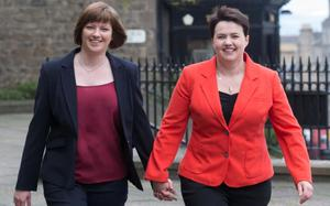 Jen Wilson, from Wexford, and her partner Ruth Davidson