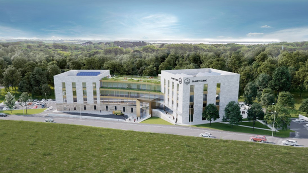 An artist's impression of the proposed new private hospital