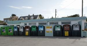 The bring centre at Rosslare which is subject to a lot of illegal dumping