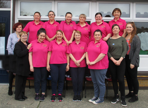 Staff at the Huggie Bears Childcare Centre