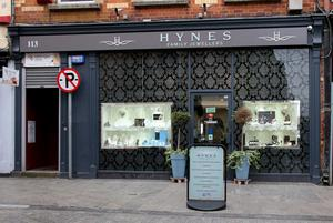 Hynes Family Jewellers on North Main Street closed over the weekend