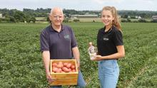 Field of dreams: John and Orla Stafford of Jackford Irish Potato Gin