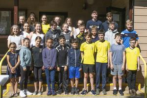 Members of Wexford Swimming Club at their annual awards and barbecue at Piercestown Scout Hall