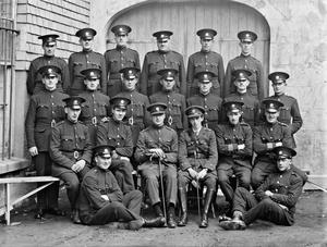 A group of Civic Guards in Wexford, June 7 1924. Photos courtesy of the NLI