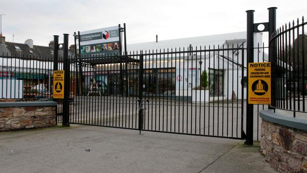 The developers planned to demolish the old C&D Hardware store to make way for the new apartments block