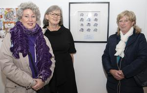 Annette O'Hara, Margaret Cullen and Peggy Barry from Access 2000