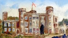 The cover of 'The Heraldry of Johnstown Castle'