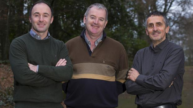 From left;  David Burke, , Brendan Murphy and Stephen Carr of  Celtic Nutrition.Photo;Mary BrowneRepro Free - No reproduction fee