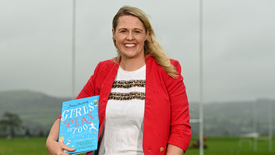 RTÉ presenter and author, Jacqui Hurley. Photo by Sam Barnes / Sportsfile