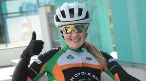 Gorey cyclist Sharon Osborne will cycle the Wild Atlantic Way to raise money for the Irish Deaf Society and Talk to Tom