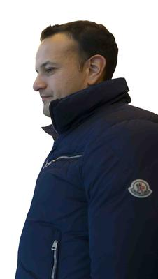 An Taoiseach Leo Varadkar wearing THAT jacket on his visit to Wexford County Council Buildings