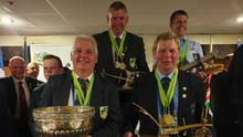 Éamonn Tracey (Ireland), John Whelan (Ireland), joined by other top winners with their awards