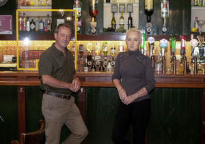 John and Annette Gaynor of Gaynor's Pub on Hill St in Wexford