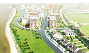An artist's impression of the proposed Carcur development