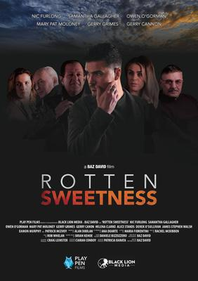 The film poster for 'Rotten Sweetness'.