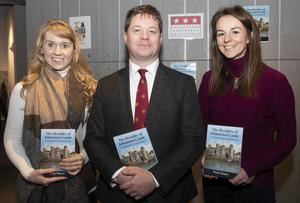 Orla Boyle, Peter Henry and Rebecca Hill at the event