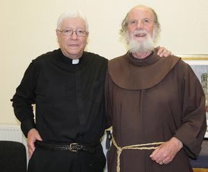Fr Sean Gorman and Brother Brian Johnston at the function.