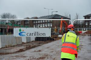 The Carillion collapse shut down the Wexford build just days before the school was due to open
