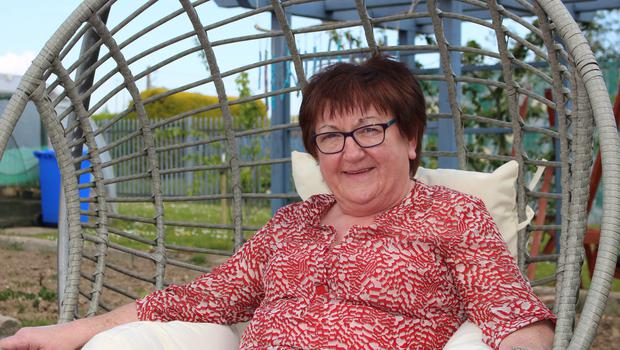 Annette Walsh, who is a programme facilitator with Rehab Care at Whitemill.