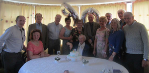 Joan Sheil of Ballyhine Lane, Barntown with family members at her 90th birthday party