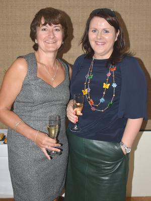Ann Gallagher and Lorraine O'Gorman at the launch of the Caudalie range at Kelly's Rosslare.