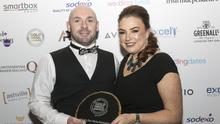 Paul and Edwina Hynes from La Côte with their award