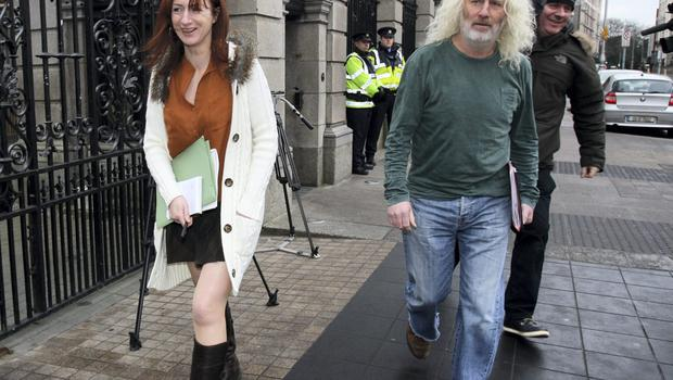 Clare Daly TD and Mick Wallace TD