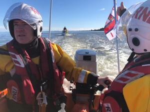 Wexford RNLI on Sunday's rescue operation