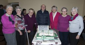 Ann Roche, Louie Roche, Peadar Bates, Jim Roche, Anna Lambert, Mary Cassidy and Peggy Stamp who were among the first pupils in the school.