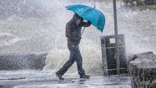 Met Éireann is forecasting heavy rain