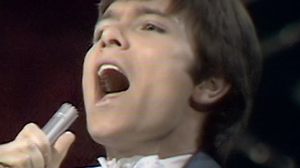 Cliff Richard sings 'Congratulations' at the Eurovision