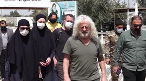 Mick Wallace and Clare Daly on their recent visit to Iraq