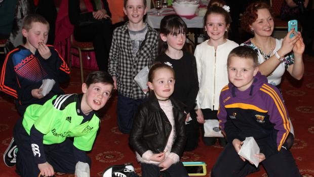 Enjoying the fashion show in aid of Kilrane NS in The Danby Lodge.