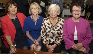 Kay Broderick, Eileen McKiernan, Emily Power and Mary A Doyle at the event