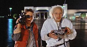 Michael J Fox and Christopher Lloyd in 1985 blockbuster, Back To The Future, which will be screened at the National Opera House as part of the festival